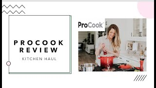 I spent £170 on PROCOOK cookware/NOT SPONSORED | Kitchen haul honest review | My new pots and pans