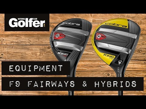 Cobra F9 Hybrid and Fairway Wood Reviews – First Look