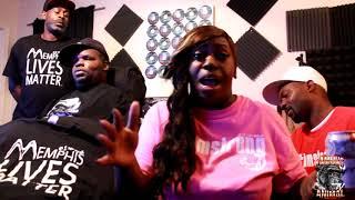 La Chat Speaks On History With Yo Gotti, Gucci Mane & Three 6 Mafia (CertyMac & Cizzle)