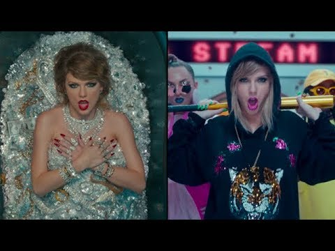 25 References In Taylor Swift's 'Look What You Made Me Do' Video You Probably Missed