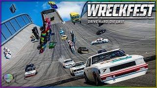 Rock Bottom Ruckus! | Wreckfest | NASCAR Legends