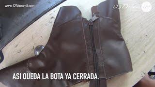 Calzado Artesanal Parte 8- Pespuntes