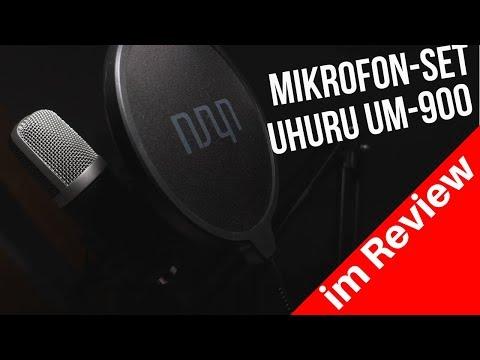 Bestes Low Budget Streaming Mikrofon | UHURU Mikrofon Set UM 900 Review