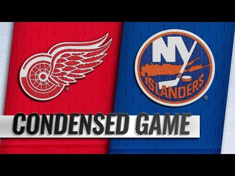 12/15/18 Condensed Game: Red Wings @ Islanders