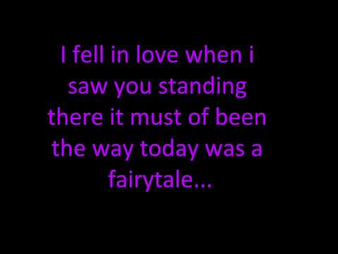 Taylor Swift-Today Was A Fairytale (with lyrics)