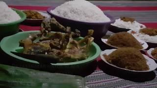 Kenduri Tradisional Bahasa Jawa Halus & Model Rumah penduduk di Babatan, Wonotirto, Blitar, Jatim