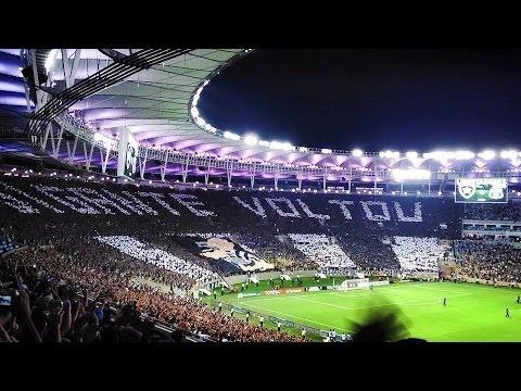 """""""Mosaico: O Gigante Voltou! - Botafogo 4 x 0 Dep. Quito - Libertadores 2014"""" Barra: Loucos pelo Botafogo • Club: Botafogo"""