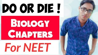 TOP 10 BIOLOGY CHAPTERS FOR NEET    CAREER TUTORIAL    IMPORTANT FOR NEET