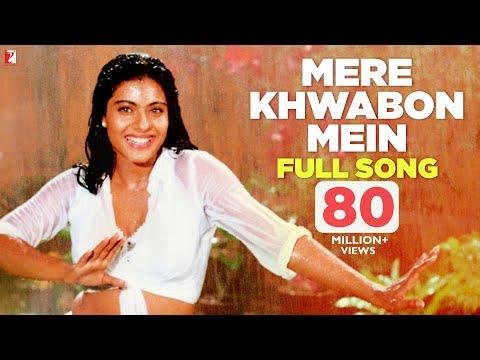 Download Mere Khwabon Mein - Full Song | Dilwale Dulhania Le Jayenge | Shah Rukh Khan | Kajol HD Mp4 3GP Video and MP3