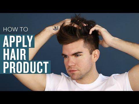 How to Properly Apply Hair Product