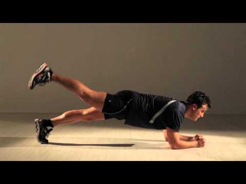 Super Plank With Leg Raise