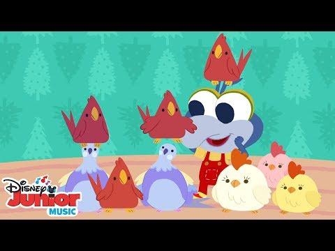 12 Days of Christmas 🎄  🎶 Disney Junior Music Nursery Rhymes   Disney Junior