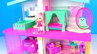 Мультик с куклами! Обустраиваем Домик для Шопкинс! Happy Places Shopkins Видео для детей