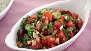 מתכון לסלט עגבניות חריף