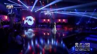 Tiberiu Albu si Irina Baiant - Phantom of the opera - Vocea Romaniei 2014 - Finala - Editia 15