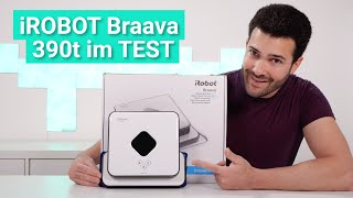 Der iRobot Braava 390t im Test - Das kann der Wischroboter mit extra Navigationswürfel!