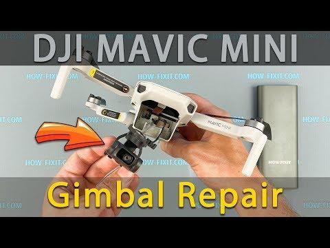 Dji Mavic Mini Gimbal Reparatur nach dem Absturz