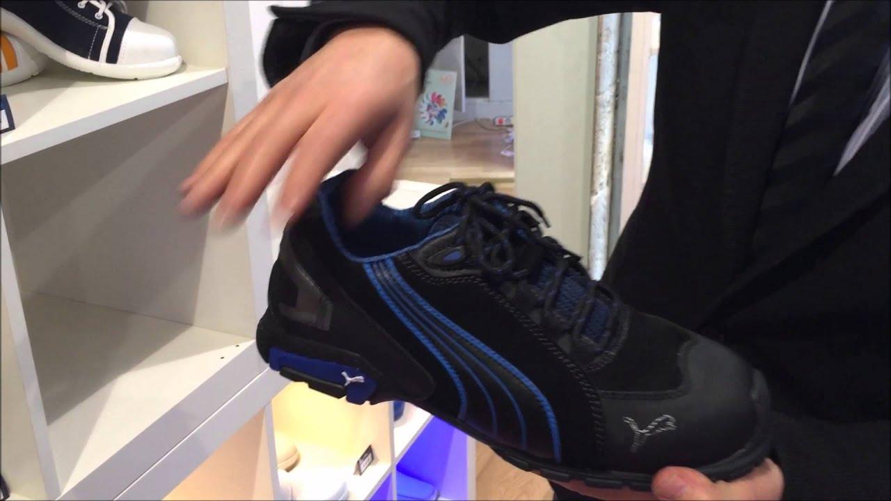 nouveau produit fbdb8 6cfcf Chaussure de securité basket Puma rio black s3 à 77,42€HT ...