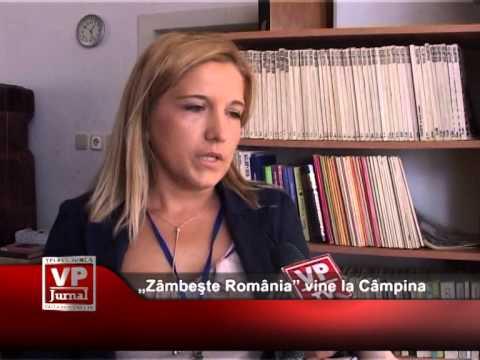 """Zâmbeşte România"" vine la Câmpina"