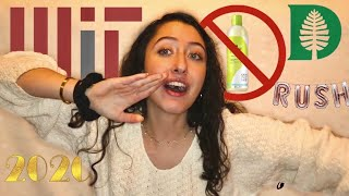 MIT Confessions, Fall Term Reflections, and Existential Questions | a life update video