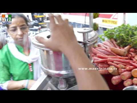 GAJAR JUICE MAKER IN INDIAN STREETS |   Carrot Juice | HEALTHIEST STREET FOODS IN INDIA
