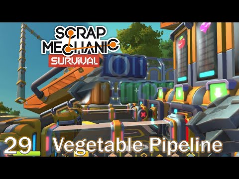 Vegetable Pipeline Testing   Scrap Mechanic Survival