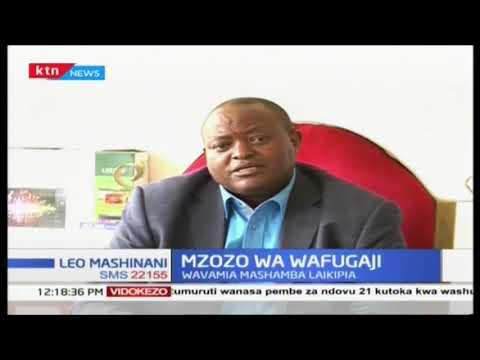 Wafugaji N'gombe wavamia mashamba Laikipia