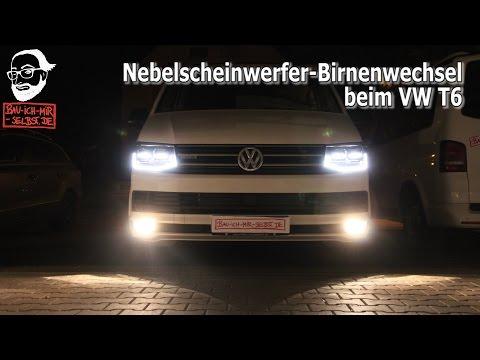 Videoanleitung VW T6 Nebelscheinwerferbirnen Tausch - in 1 Minute fertig