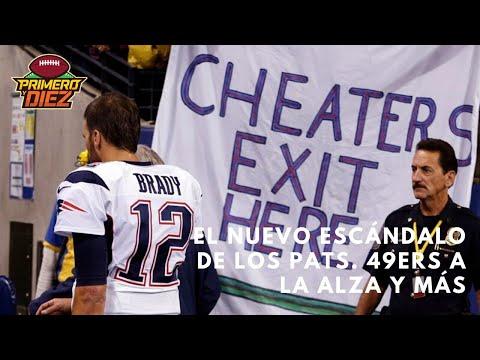 Spygate 2, el nuevo escándalo de los Patriots. Los 49ers retoman el primer lugar de la NFC y más