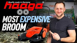 Haaga: The Best and Most Expensive Sweeper for your Roofing Warehouse
