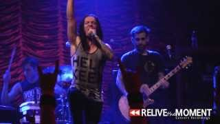 2013.07.08 The Word Alive - 94 Hours (As I Lay Dying Cover, Live in Joliet, IL)