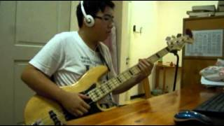Sly And The Family Stone - (Thank You Falettinme Be Mice Elf Agin) (BASS COVER)