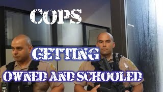 Officers Getting Schooled & Owned by citizens Compilation