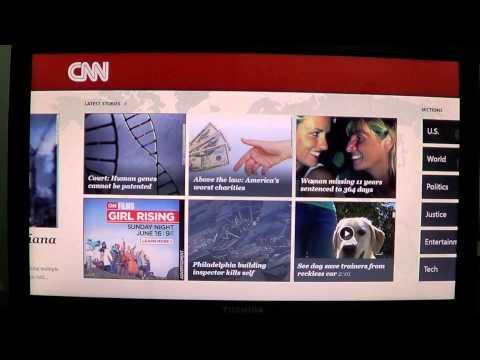 Windows 8   Top ten apps review CNN news app