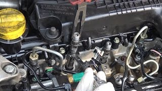 Injectors test and replacement