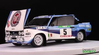Kyosho Fiat 131 Abarth Works Olio #5 Winner Rally Portugal