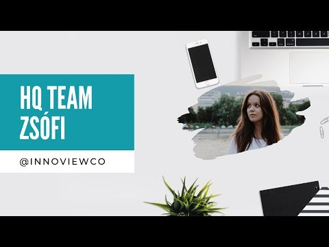 INNOVIEW  - HQ Team: Zsófi