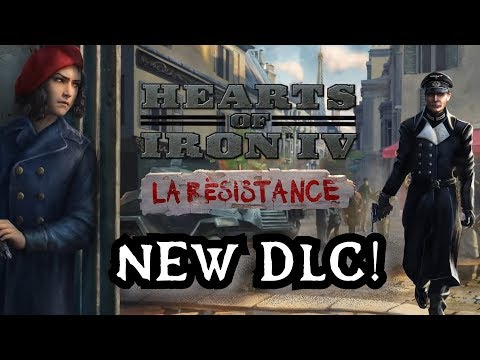 Hearts of Iron 4: 'La Resistance' DLC Overview - PDXCON 2019