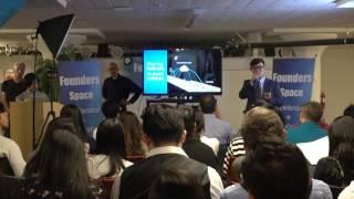 블루시그널 인턴직원의 파이팅 넘치는 실리콘밸리에서의 데모데이 영상