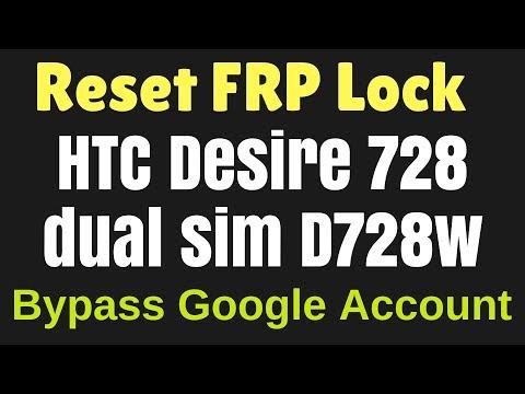 HTC Desire D728w google bypass frp reset 100 - смотреть онлайн на