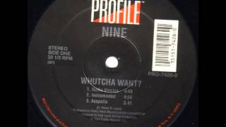 Nine Whutcha Want? (Instrumental) (1994) HQ