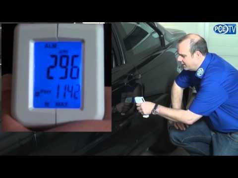 Medidor de espesor de pintura para automoción PCE-CT 25
