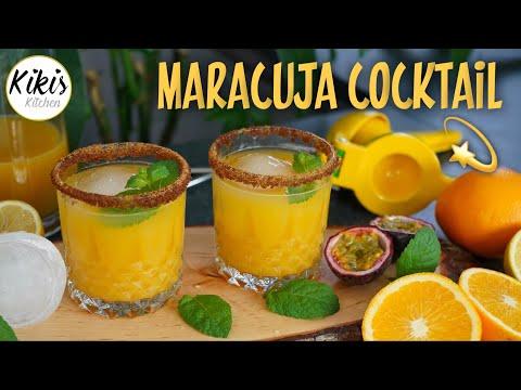 1 Minute Solero Cocktail  - alkoholfrei / Maracuja Cocktail