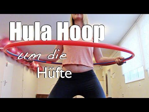 Hula Hoop lernen für Anfänger: Waist Hooping - mit Slomo