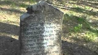 preview picture of video 'Michałowo we wspomnieniach - cmentarz żydowski  - maj 2008'