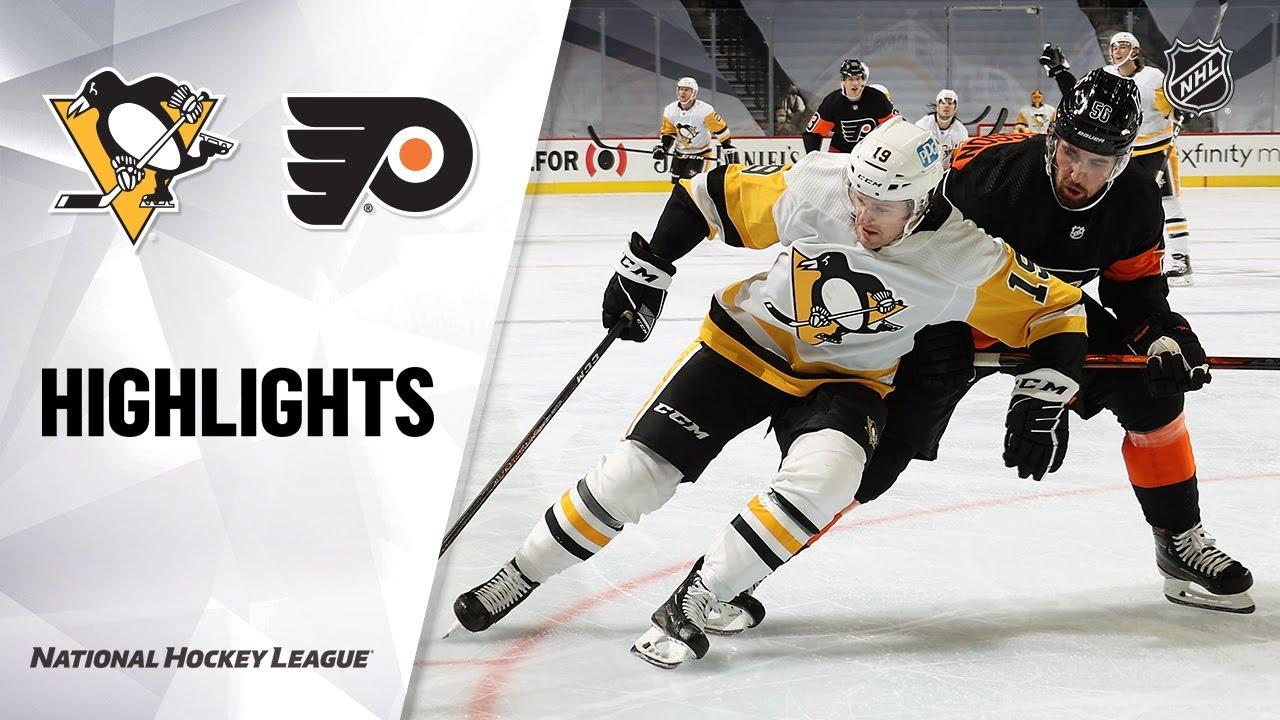 Penguins vs Flyers | Friday, January 15, 2021