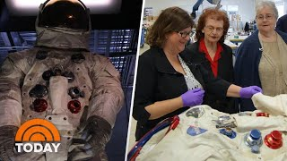 The Story Of Neil Armstrong's Spacesuit, Told By The Women Who Made It | TODAY
