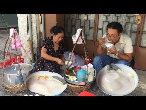 Gánh tàu hũ gần 40 năm giữa trung tâm Sài Gòn bán 5 ngàn chén, thân thiện hiếu khách