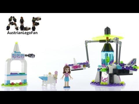 Vidéo LEGO Friends 41128 : Le manège volant du parc d'attractions