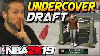 NBA 2K19 Undercover Draft